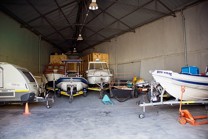 Boat, Caravan, Car or Trailer Storage